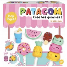 Patagom – Zestaw z masą do tworzenia gumek do mazania – Słodycze 262501