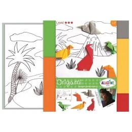 Aladine – Origami – Scenka z dinozaurami 47404