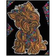 Colorvelvet – Welwetowa kolorowanka – Yorkshire Terrier CVL150