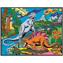 Colorvelvet – Welwetowa kolorowanka – Dinozaury CVL29