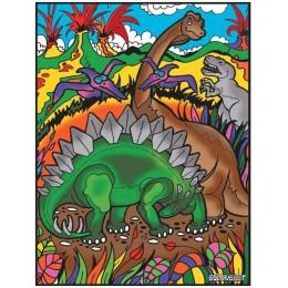 Colorvelvet – Welwetowa kolorowanka – Dinozaury CVL71