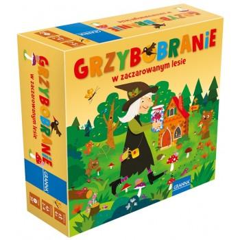 Granna – Gra planszowa - Grzybobranie w zaczarowanym lesie 2164