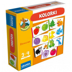 Granna - Domino Kolorki - Moje pierwsze gry - Gra edukacyjna 3109