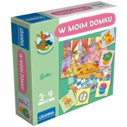 Granna - W moim domku - Moje pierwsze gry - Gra edukacyjna 2867