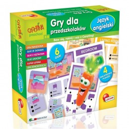 Gra Lisciani - Carotina Preschool - Język angielski 61228