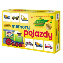 Adamigo – Gra memory pojazdy – 7196