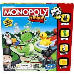 Hasbro A6984 Gra - Monopoly Junior
