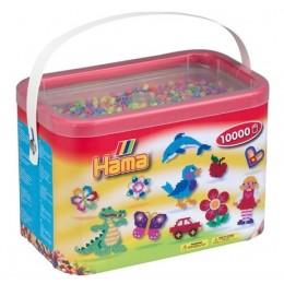 Koraliki Hama 20250 MIDI 10.000 Koralików Pastelowych w Pudełku