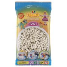 Koraliki Hama MIDI 1000 Koralików 207-77 Kolor Mlecznobiały