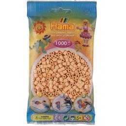 Koraliki Hama MIDI 1000 Koralików 207-78 Kolor Jasnołososiowy
