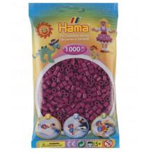 Koraliki Hama MIDI 1000 Koralików 207-82 Kolor Ciemna Fuksja