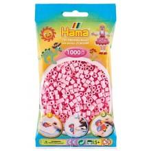 Koraliki Hama MIDI 1000 Koralików 207-95 Kolor Jasny Róż Pastelowy