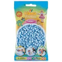 Koraliki Hama MIDI 1000 Koralików 207-97 Kolor Jasny Niebieski Pastelowy