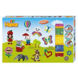 HAMA MIDI 3044  Zestaw Giant Gift Box 6000 koralików