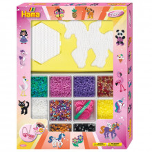 Koraliki Hama Midi - Zestaw prezentowy dla dziewczynki - 7,2 tys. 3071