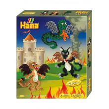 Koraliki Hama Midi - Smoki - 2,5 tys. 3245