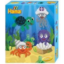 HAMA MIDI 3249 Morskie zwierzęta 2500 koralików