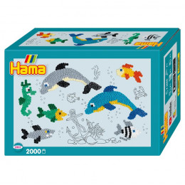 Koraliki Hama Midi - Zwierzęta morskie - 2 tys. 3507