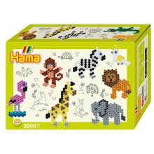 HAMA MIDI 3510 Zwierzęta z ZOO 2000 koralików
