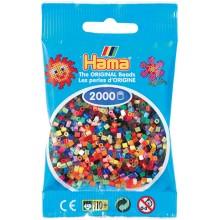 Koraliki Hama MINI 2000 Koralików 501-00 Mix kolorów
