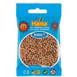 Koraliki Hama MINI 2000 Koralików 501-75 Kolor Dębowy