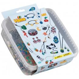 Koraliki Hama Mini - Biżuteria i zawieszki w pudełku - 5403