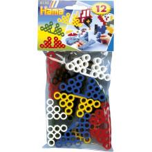 Koraliki Hama Maxi - Podstawki pod projekty - 12 szt. 8150