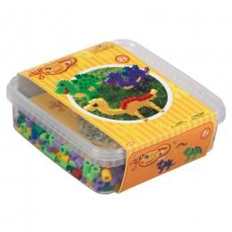 HAMA MAXI 8742 Dinozaury - zestaw w pudełku 600 sztuk