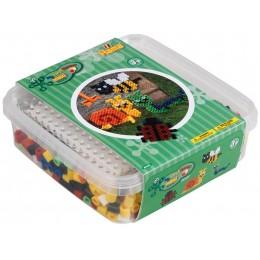 Koraliki Hama Maxi - Zestaw w pudełku Robaczki - 8744