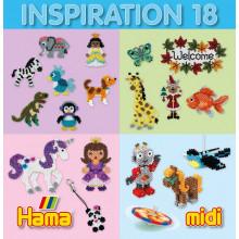 HAMA MIDI 39918 Książeczka Inspiracje 18 MIDI