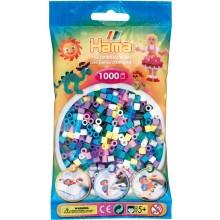 Koraliki Hama MIDI 1000 Koralików 207-69 Kolor MIX 8 Kolorów