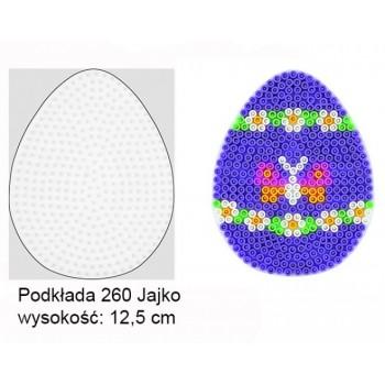 Koraliki Hama Midi Podkładka 260 Jajko