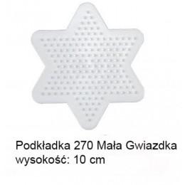 Koraliki Hama Midi Podkładka 270 Mała Gwiazdka