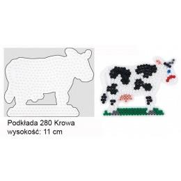 Koraliki Hama Midi Podkładka 280 Krowa