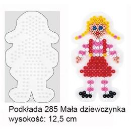 Koraliki Hama Midi Podkładka 285 Mała Dziewczynka