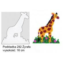 Koraliki Hama Midi Podkładka 292 Żyrafa