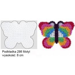 Koraliki Hama Midi Podkładka 298 Motyl