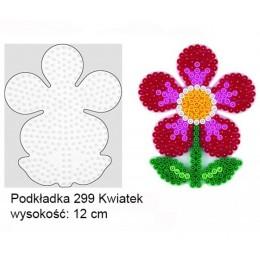 Koraliki Hama Midi Podkładka 299 Kwiatek
