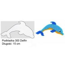 Koraliki Hama Midi Podkładka 300 Delfin