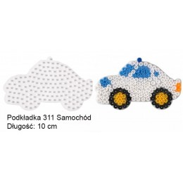 Koraliki Hama Midi Podkładka 311 Samochód