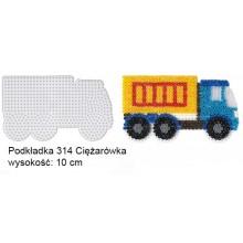 Koraliki Hama Midi Podkładka 314 Ciężarówka