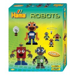 Koraliki HAMA 3227 MIDI 2500 sztuk Zestaw Karuzela Roboty