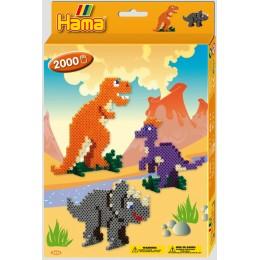 3434 Koraliki HAMA MIDI Dinozaury