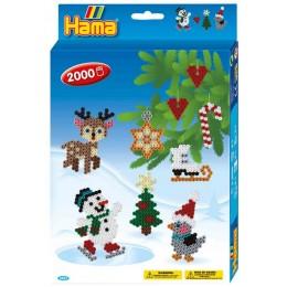 HAMA MIDI 3437 Zestaw Boże Narodzenie 2000 koralików