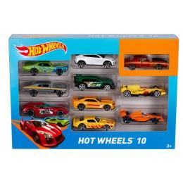 Hot Wheels Zestaw 10 samochodzików - MIX 54886