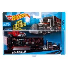 HOT WHEELS SUPERCIĘŻARÓWKA ROAD ROLLER BDW54
