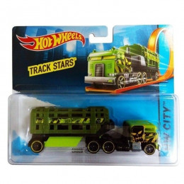 Hot Wheels - Ciężarówka Caged Cargo - Track Stars BFM73
