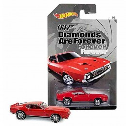 Hot Wheels James Bond - Diamonds Are Forever - CGB73 Samochodzik '71 Mustang Mach 1