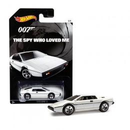 Hot Wheels James Bond - The Spy who loved me - CGB74 Samochodzik Lotus Esprit S1