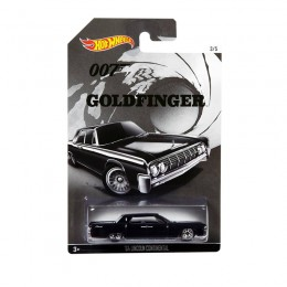 Hot Wheels James Bond - Goldfinger - CGB75 Samochodzik '64 Lincoln Continental